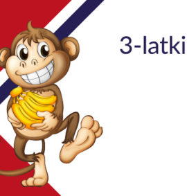 angielski dla trzylatków