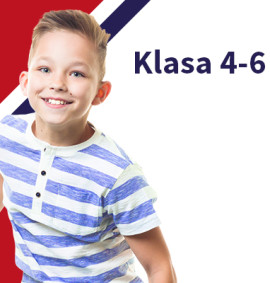 Angielski dla dzieci z klas 4-6